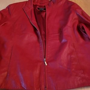 Wilson's leather coat